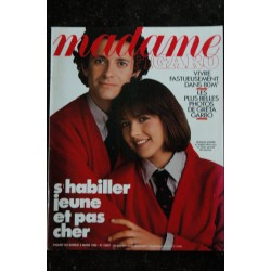 MADAME FIGARO 12137 * 1983 / 09 LADY DI SUPER STAR Cover + 8 pages * Philippe NOIRET Sylvie VARTAN