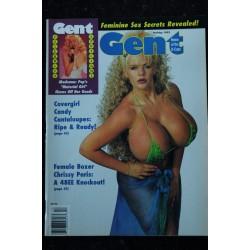 GENT 1992 12 SAMANTHA FOX KAYLA KLEEVAGE L.A. BUST NELL NINA