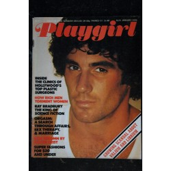 Playgirl Vol. 3 n° 10 MARCH 1976 INTERVIEW RAQUEL WELCH MIKE BOCK MUSIC DONNA SUMMER + POSTER MARC RODRIGUEZ