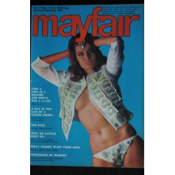 MAYFAIR UK Vol 01 N° 12 1966 12 TRES RARE Sex is off the secret list Terry MARTINE