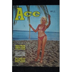 Ace 1961 08 * Vol. 5 n° 2 * Summer Sirens Hollywood's penny-a-word psychoanalysts Partially nude pretty girls