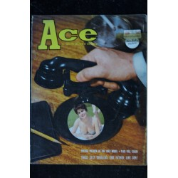 Ace 1961 08 * Vol. 5 n° 2 * Summer Sirens Hollywood's penny-a-word psychoanalysts Partially nude pretty girls * Vintage
