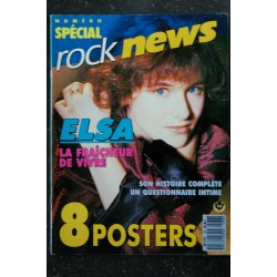 ROCK NEWS 1985 01 n° 1 * David BOWIE Kim WILDE Billy IDOL PRINCE Michael JACKSON Boy GEORGE