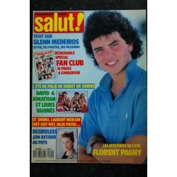 Salut ! M4768 018 N° 18 1988 juillet David HALLYDAY SANDY NICK KAMEN Poster PAGNY ASTLEY