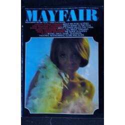 MAYFAIR UK Vol 02 N° 7 1967 07 TRES RARE VANESSA REDGRAVE SIMON OATES Miss ARGENTINE Patrick CAMPBELL