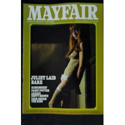 MAYFAIR UK Vol 03 N° 4 1968 04 RARE HARDY AMIES WILLIAM BODDY WILLIAM BURROUGHS Pierre CARDIN Gunilla DAHLMAN