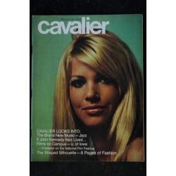 CAVALIER Vol 18 N° 8 1968 06 RARE J. EDGAR HOOVER Will McBRIDE Debbie DEADWOOD TORRID TOGA