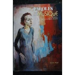 Paroles & Musique 28 * 1983 03 * GUY BEART SAPHO JEAN MOIZIARD BOULAT OKOUDJAVA