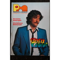 Paroles & Musique 38 * 1984 03 * FELIX LECLERC GERARD BLANCHARD QUILAPAYUN