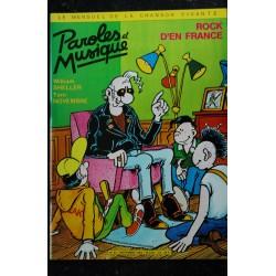 Paroles & Musique 41 * 1984 06 * GEORGES BRASSENS KARIM KACEL BRENDA WOOTTON Printemps de BOURGES