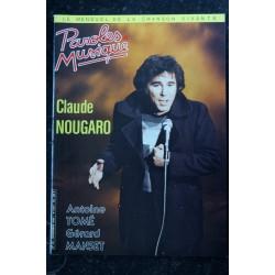 Paroles & Musique 43 * 1984 10 * MAMA BEA LEO FERRE SERGE REGGIANI