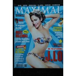 MAXIMAL 40 2004 BEYONCE Clara Morgane Eva Mendès