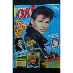OK ! âge tendre 642 MAI 1988 COVER GEORGE MICHAEL A PARIS JOHNNY CLEGG DE A à Z