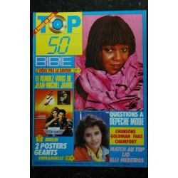 TOP 50 035 1986 11 * Mylène FARMER MEDEIROS RAMAZZOTTI Poster STEPHANIE