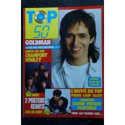 TOP 50 036 1986 11 * BIBIE Jean-Michel JARRE DEPECHE MODE LIO GOLDMAN Poster EMMANUELLE