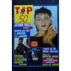 TOP 50 041 DECEMBRE 1986 ELLI MEDEIROS MARC TOESCA ZZ TOP C. JEROME POSTERS LES GIRLS DU TOP TINA TURNER
