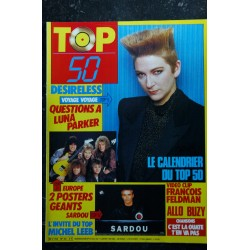 TOP 50 043 1986 12 * FRANCOIS FELDMAN Marc TOESCA IMAGES DOROTHEE EURYTHMICS LOEB DESIRELESS