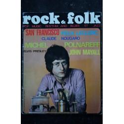ROCK & FOLK 019 n° 19 Juin 1968 BIL HALEY JIMI HENDRIX ARETHA FRANKLIN DONOVAN JULIE DRISCOLL Nicole CROISILLE