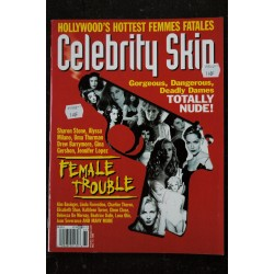 CELEBRITY SKIN 1998 65 Sharon Stone Alyssa Milano Uma THurman Drew Barrymore Jennifer Lopez KIm Basinger Charlize Theron