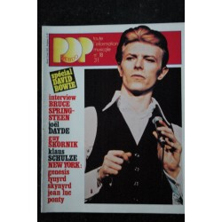 POP HEBDO n° 17 * 1976 05 * JETHRO TULL GENESIS ANGE MURRAY HEAD PATTI SMITH Pierre VASSILIU
