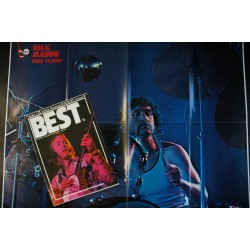 BEST 072 N° 72 juillet 1974 Spécial USA ELTON JOHN E.L.P. Lou REED KINKS SPARKS