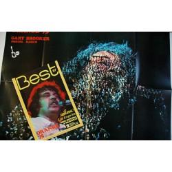 BEST 070 N° 70 mai 1974 DAVID BOWIE Le nouveau STONES Magma Traffic Van Morrison GENESIS