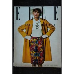 ELLE 321 1951 01 RARE * FIRST COVER AVA GARDNER Madame SINATRA