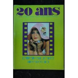20 ANS * 1972 01 * n° 113 RUFUS Francis HUSTER Xavier GELIN La beauté selon les hommes