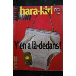 HARA KIRI 287 AOUT 1985 HIROSHIMA FRANCIS MASSE WOLINSKI GEBE CHORON BD