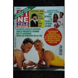 CINE TELE REVUE 1995 9525 PAMELA ANDERSON cover + 4 p HALLIDAY STALLONE