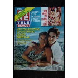 CINE TELE REVUE 1996 9626 PAMELA ANDERSON cover + 6 p FARRAH FAWCETT GEORGES CLOONEY