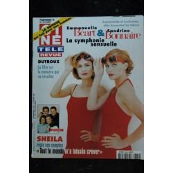 CINE TELE REVUE 1996 9622 SHEILA cover + 4 p DEMI MOORE Ava GARDNER Richard BERRY