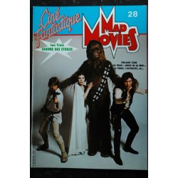 Ciné Fantastique MAD MOVIES n° 26 * 1983 * MAD MAX THE DARK CRYSTAL DAVID CRONEMBERG