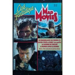 Ciné Fantastique MAD MOVIES n° 31 * 1984 * INDIANA JONES TEMPLE MAUDIT Le Hard Fantastique Américain