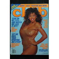 CLUB Ed. US Vol. 20 N° 12 1994 Sharlene Chrissy Becky Gerty Lisa