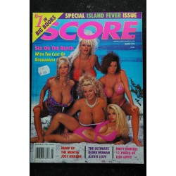SCORE Ed. US Vol. 2 n° 1 * 1993 * Chloe VEVRIER * EXPLICIT PHOTOS OF THE BEST D-CUP BABES