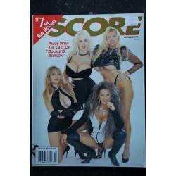 SCORE Ed. US Vol. 2 n° 5 * 1993 * LISA LIPPS Roberta Pedon Kayla Kleevage * EXPLICIT PHOTOS OF THE BEST D-CUP BABES
