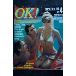 OK ! âge tendre 159 janvier 1979 * JOHN TRAVOLTA Dessin Aslan Drucker Bee Gees Abba Rod Stewart Lama Dave