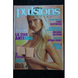 PULSIONS 11 MICHAEL JACKSON MOONWALKER KASCHA INTEGRAL NUDE + POSTERS 1988