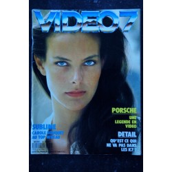 VIDEO 7 079 N° 79 1988 CAROLE BOUQUET PORSCHE LAMBERT WILSON + CAHIER EROTIC