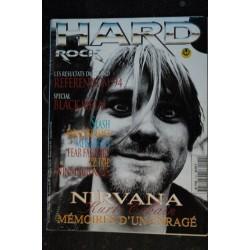 HARD ROCK Magazine 1989 10 n° 62 * manque poster KISS QUEEN GUNS N'ROSES TESTAMENT MOTLEY CRUE