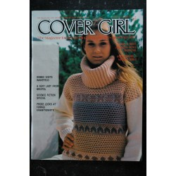 COVER GIRL Vol 1 n° 6 * 1978 * MARY MILLINGTON THE EXHIBITIONISTS PHOTO JOHN LITTLE EROTISME NUS