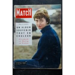 PARIS MATCH N° 408 * 07 février 1957 * Grace KELLY devient maman - Ingrid BERGMAN - NASSER - IBN SEOUD