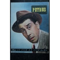 Mon film n° 191 * Avril 1950 * AUX YEUX DU SOUVENIR * Michèle MORGAN Jean MARAIS * 16 pages