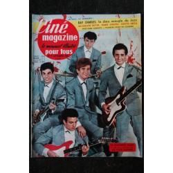 CINE MAGAZINE 1961 n° 6 * COVER DALIDA - Les canons de Navarone - Romanoff et Juliette - Paul ANKA