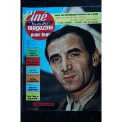 CINE music MAGAZINE 1961 n° 12 * COVER Vince TAYLOR - Fats Domino - Marcel AMONT - Leçon de Twist