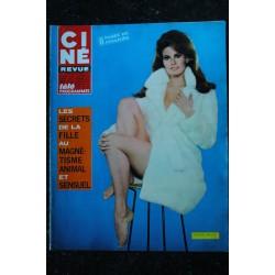 CINE REVUE 1975 n° 10 URSULA ANDRESS + POSTER NUE KING KONG BRIGITTE BARDOT