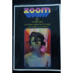 ZOOM MAGAZINE 002 N° 2 J.P BOURGEOIS TOP-MODELS CHARME GACHET FANTASME CRAMER G. CARON