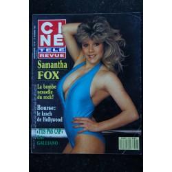 CINE TELE REVUE 1987 n° 11 COLLARO COCOGIRLS poster Belmondo Giraudeau Tom Cruise