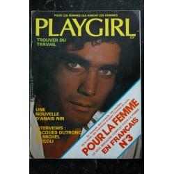 Playgirl Vol. 3 n° 8 January 1976 RAY BRADBURY Judith CRIST Jim CAVARETTA Kevin RIORDAN
